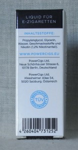 PowerCigsPremium Liquid
