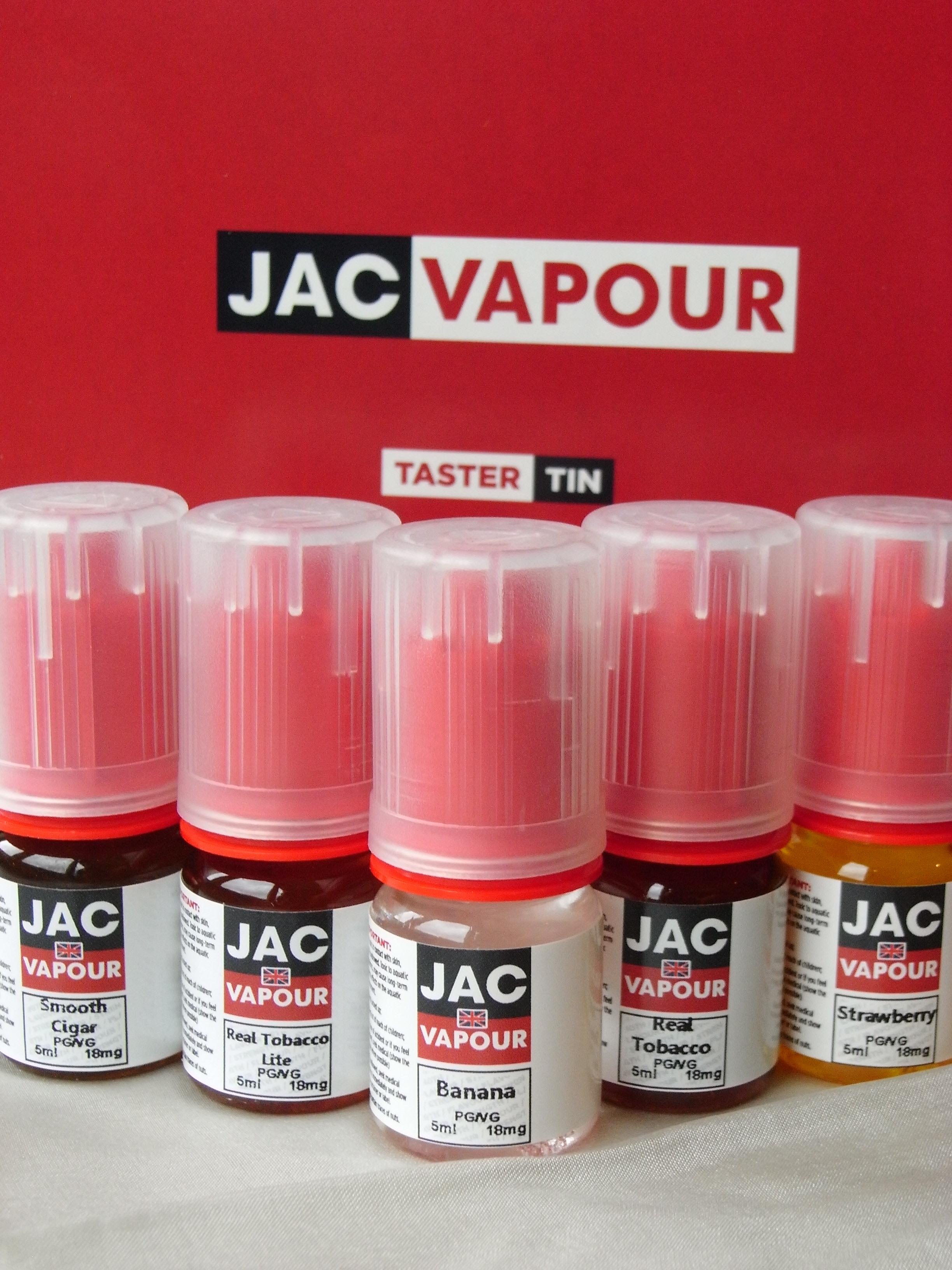 TasterTin Red von JacVapour