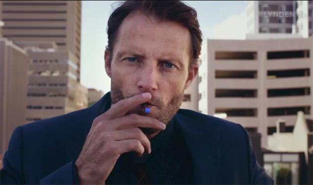 Der Lynden Mann aus der E-Zigaretten Werbung im Fernsehen